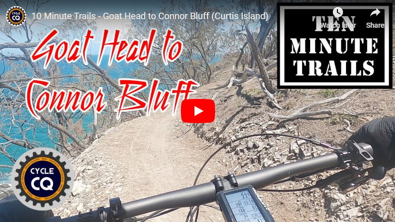 Watch the Goat Head to Connor Bluff MTB trail on YouTube